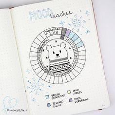 Such a cute tracker for in my bullet journal