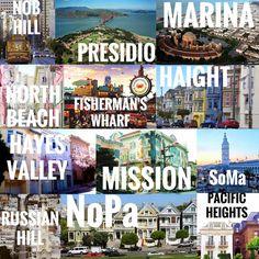 SF neighborhood guide | Well-Traveled Wife