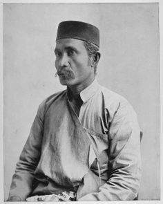 A Malay Man in Traditional Dress