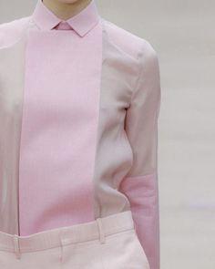 LAla Fashion Céline Runway Detail