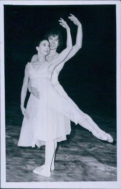 Margot FONTEYN.Марго Фонтейн ПЕЛЕАС И МЕЛИЗАНДА С Рудольфом Нуреевым 1969