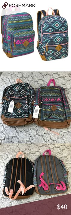 💫NWT🍁fall Women's Backpack Set 🎒 New Women's Backpack Set Includes: 1 Bright Tribal Backpack and 1 Aztec Summer Backpack.  All brand new w Tags.  Priced to sell... do not low ball.  Add your likes to a bundle to get a discount. Bags Backpacks