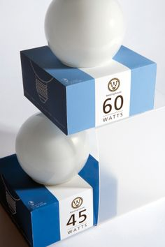 westinghouse light bulb packaging - personal portfolio www.bshindesign.com