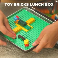 Turn Mealtime Into Playtime With This Lunchbox Hack Diy And Crafts, Crafts For Kids, Craft Projects, Projects To Try, Lego Storage, Storage Ideas, Travel With Kids, Legos, Kids Toys