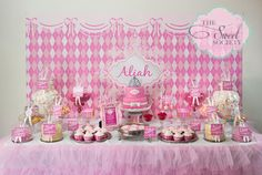 This was a Princess themed birthday party for her client's daughter Aliah, who was turning 1 on New Year's Eve. Description from partyinspirations1.blogspot.com. I searched for this on bing.com/images