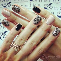 Trendy Nails with Beautiful Designs 2017 Stamping Nail Art, Gel Nail Art, Nail Manicure, Diy Nails, Nude Nails, Trendy Nails, Nails Inspiration, Beauty Nails, Hair And Nails