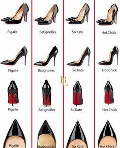 louboutin-shoes Plus Combinação De Roupas E Acessórios, Coleção De Sapatos, Sapatos Chiques, Padrão De Sapato, Roupas Pretas Femininas, Desenhos De Sapatos, Sapatos Christian Louboutin, Saltos Pretos, Saltos Lindos