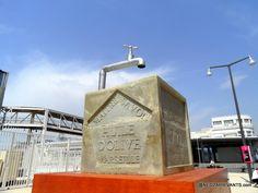Marseille le gros cube de savon ! Clepsydre-  J1 la Joliette. -- @NeoZarrivants