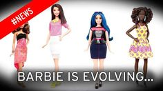 Makers of Barbie release three new body shapes including curvier doll