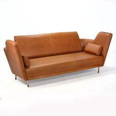 Finn Juhl; #57 'Tivoli' Sofa, 1957.