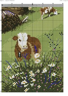Cross Stitch Bookmarks, Cross Stitch Charts, Cross Stitch Patterns, Cross Stitch House, Cross Stitch Landscape, Cross Stitch Animals, Diy Christmas Ornaments, Cross Stitching, Pixel Art