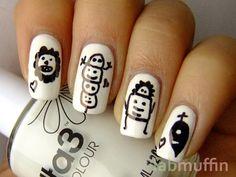 Die Antwoord inspired nails