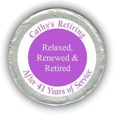 Three R's Retirement Chocolate Coins