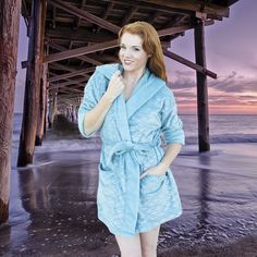 The Cape Cali Luxury Shorty Mermaid Robe is perfect for every mermaid or  merman who wants 4e1a01baf