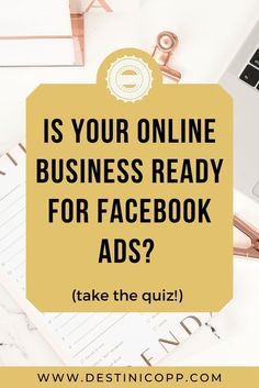 In this podcast episode, we'll ask some questions to find out if your online course business is ready for Facebook ads. Also, take the short 2-minute quiz to find out right away if your business is ready! #facebookads #instagramads #onlinecourse #onlinemarketing Facebook Business, For Facebook, Facebook Marketing, Marketing Digital, Business Marketing, Business Tips, Online Marketing, Social Media Marketing, Online Business
