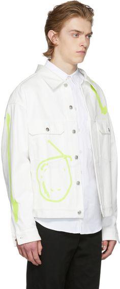 Rochambeau - White Denim Short Jacket