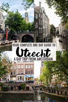 Visiting Utrecht on a day trip from Amsterdam? Read about what to do in Utrecht your guide to Utrecht in one day with the best things to do in Utrecht. #Utrecht #travel #Netherlands #Nederland #Europe