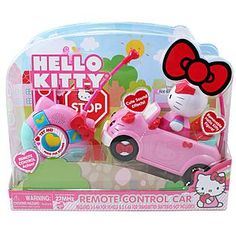 hello kitty kmart | Sold by Kmart Kmart Item# 004W005200760001 | Model# 84074 Hello Kitty Games, Hello Kitty Toys, Remote Control Cars, Cat Toys, Children, Things To Sell, Model, Young Children, Rc Drift Cars