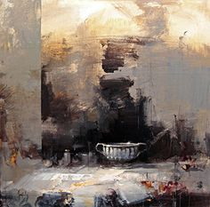Ricardo Galán Urréjola Your Paintings, Landscape Paintings, Original Paintings, Oil Painting On Canvas, Painting Frames, Contemporary Wall Sculptures, Famous Modern Art, Urbane Kunst, Abstract City