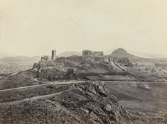 Athens, with the Acropolis | η Αθήνα με την ακρόπολη | c. 1860 | Francis Frith
