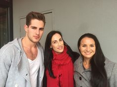 Evan van Soest (Top Model South Africa 2016 male winner), Suzette Marais (CEO of Top Model South Africa) and Amorie Pearson (from Amorie Arts) who did the photoshoot with Evan! South Africa, Van, Photoshoot, Selfie, Celebrities, Model, Tops, Celebs, Photo Shoot