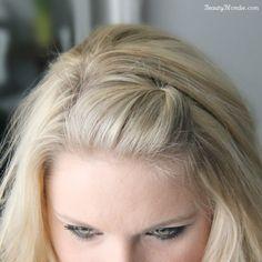 10 Hair Hacks To Survive Any Bad Hair Day - Convenile Bobby Pin Hairstyles, Hairstyles With Bangs, Easy Hairstyles, Updo Hairstyle, Hairdos, Wedding Hairstyles, Choppy Haircuts, Hair Ponytail, Homecoming Hairstyles