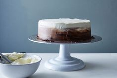 Triple Chocolate Ombre Cake recipe on Food52