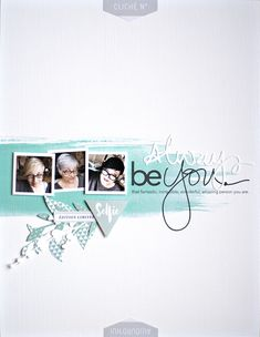 Always be you - Scrapbook.com