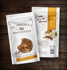 The Toasted Oat Bakehouse on Packaging of the World - Creative Package Design Gallery