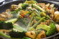 Smørstegte grøntsager - godt og nemt alternativ til ris, pasta og kartofler