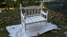 A bench from headboard
