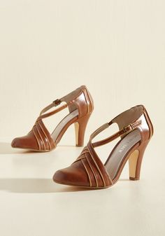 Time for Terpsichore Heel, @ModCloth