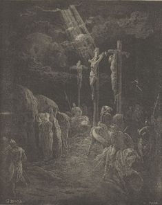 Gustave Dore Painting Reproductions For Sale Gustave Dore, Catholic Art, Religious Art, Crucifixion Of Jesus, Jesus Christ, Bible Illustrations, The Cross Of Christ, Biblical Art, Oil Painting Reproductions