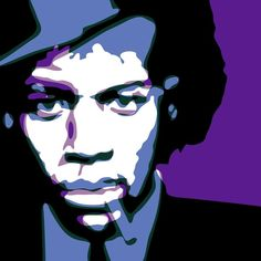 The Guitarists, or Crossroads Traffic .Robert Johnson + Jimi Hendrix by Troy Gua Robert Johnson, Jimi Hendrix, Troy, Famous People, Blues, Singer, Fictional Characters, Art Ideas, Celebrity