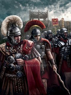 The Battle of Alesia Rome History, Ancient History, Ancient Rome, Ancient Greece, Imperial Legion, Roman Armor, Roman Centurion, Rome Antique, Roman Warriors