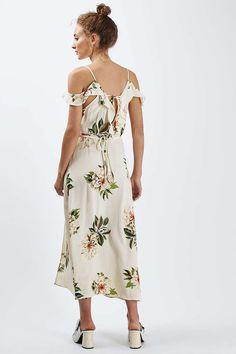 Floral Maxi Dress - Topshop