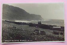 3 SEWARD RP Postcards c.1920 WEST CLIFFS,CHESIL COVE & VIEW PORTLAND DORSET