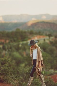 Faux Suede Poncho | Anthropologie