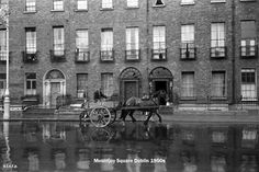 Mountjoy Square 1950's