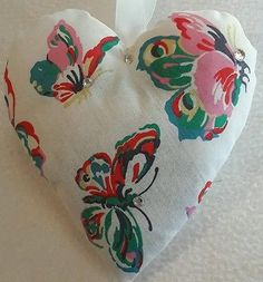 Butterfly Christmas Gift / Cath Kidston Butterfly Fabric Lavender Bag