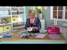Craft Dies by Sue Wilson -- Tutorial Video; Inlaid Roses Card for Creative Expressions