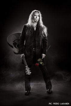 Jarkko Ahola is one of the most talented artists I've ever heard. So no wonder he is from Finland Black Metal, Finland, Pin Up, Goth, Punk, Staging, Lovers, Artists, Board