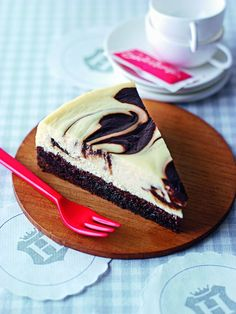 Brownie Marble Cheesecake - amicella