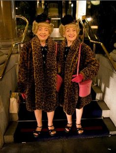 The Brown twins were the sweetest pair. Vivian died in 2012. They are my birthday sisters (January 25 Aquarius). You would see them everywhere. My first day in SF I saw the twins.