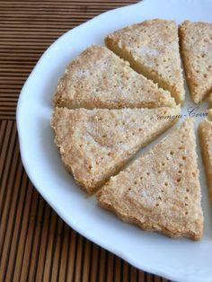 Comoju: Galletas de Mantequilla o Shortbread