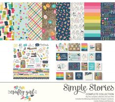 Crafty Girl Digital Collection Kit | Simple Stories
