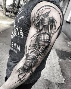 "Polubienia: 7,309, komentarze: 88 – Inez Janiak (@ineepine) na Instagramie: ""#wowtattoo #blacktattoomag #blacktattooart #inkstinctsubmission #equilattera #black #tattoo…"""