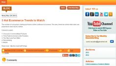 5 Hot Ecommerce Trends to Watch