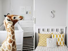 Boy and Girl shared nursery design. Reader Redesign: Move Over Sister