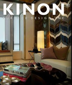 The Ritz Carlton in Singapore uses Kinon resin surfaces as gorgeous decorative surface material. Kinon is a unique handmade product used by interior designers worldwide for residencies, retail spaces, hotels and more. The Kinon Surface Design website is perfect for finding inspiration and ordering a sample of Kinon. #materials #interiordesign #modern #decorativesurfacematerial